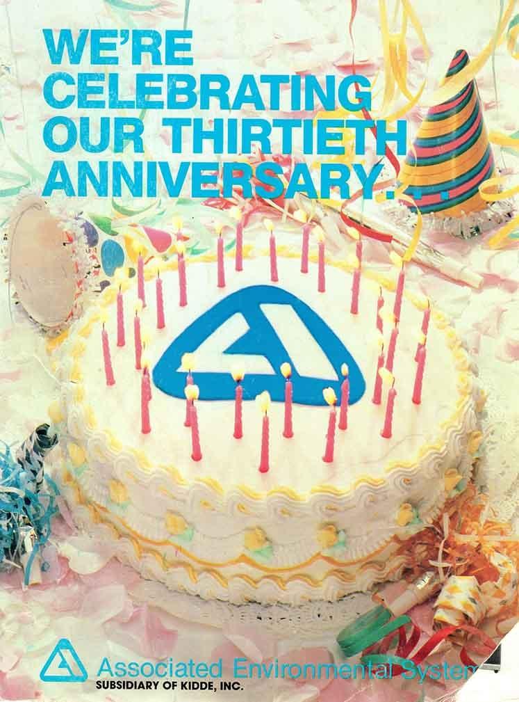30th anniversary associatedenvironmentalsystems