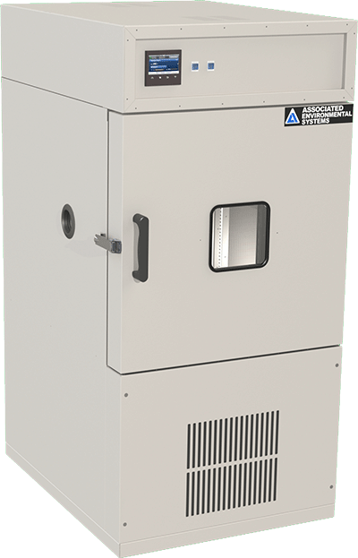 Floor-model, 8 cubic foot workspace, temperature test chamber by associated environmental systems