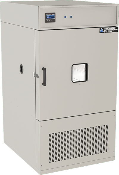 Floor-model, 19 cubic foot workspace, temperature test chamber by associated environmental systems
