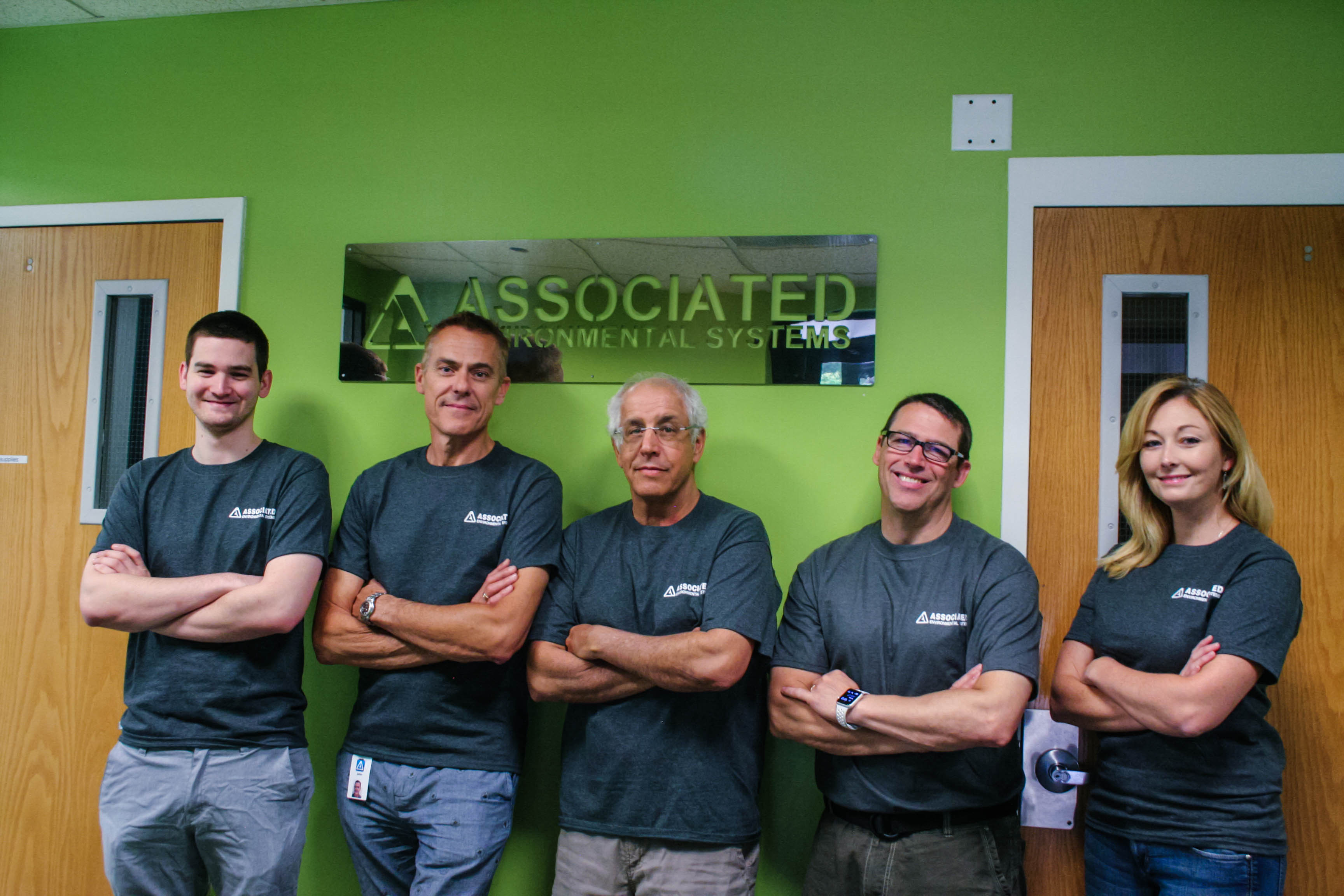 Associated Environmental Systems innovative leadership team inspires growth and your career.