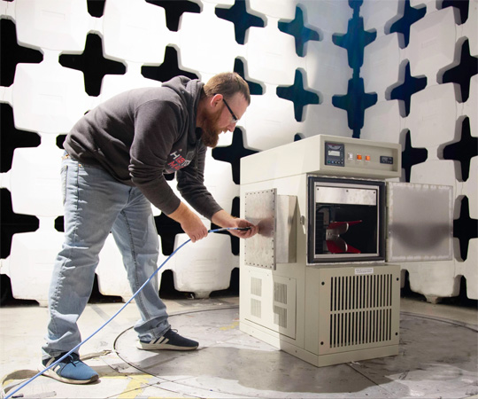 Chamber testing by associated environmental systems