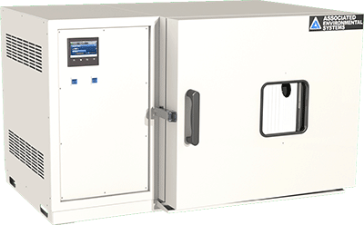 temperature/humidity benchtop chamber, 5 cubic feet, by associated environmental systems