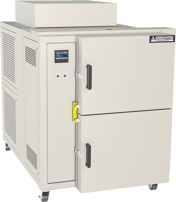 SM-05 two compartment air to air thermal shock test chamber