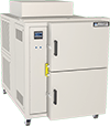 Thermal shock chamber, 5 cubic foot work space, by associated environmental systems