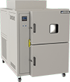 Thermal shock chamber, 8 cubic foot work space, by associated environmental systems