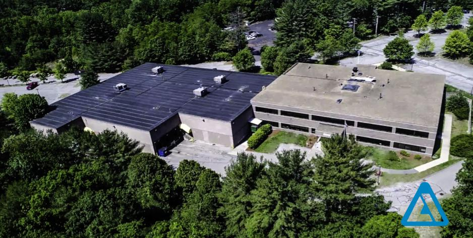 Sky view acton manufacturing facility