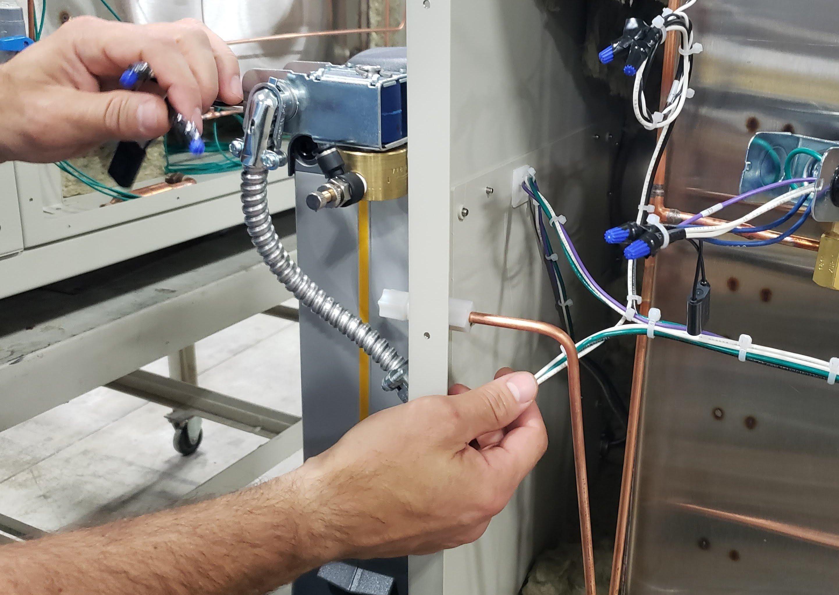 dehumidifier dry air purge by associated environmental systems