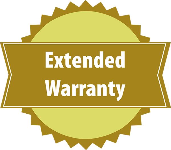 Extended Warranty badge