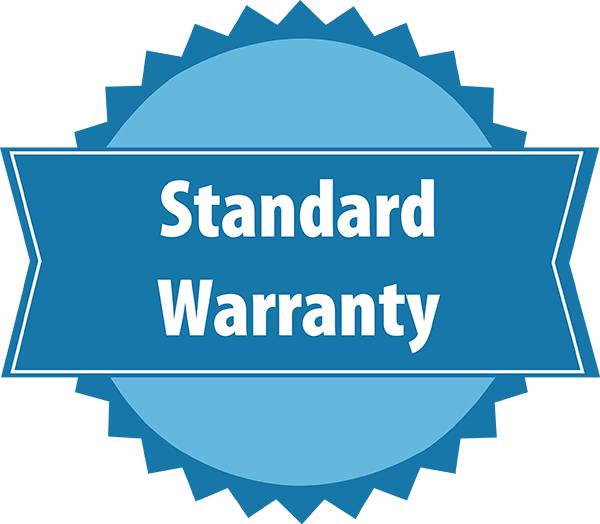 Standard Warranty badge