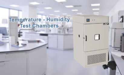 Temperature and humidity test chambers manufactured by Associated Environmental Systems