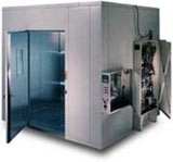 typical walk-in test chamber by associated environmental systems