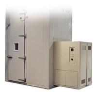 Walk-in test chamber tall