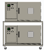 Temperature Humidity Test Chamber Stackable Two High SD/BHD-02