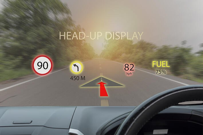 Sensor technology in automotive augmented reality is in the near future.