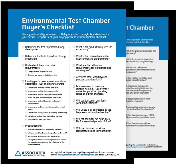 Buyer's Checklist