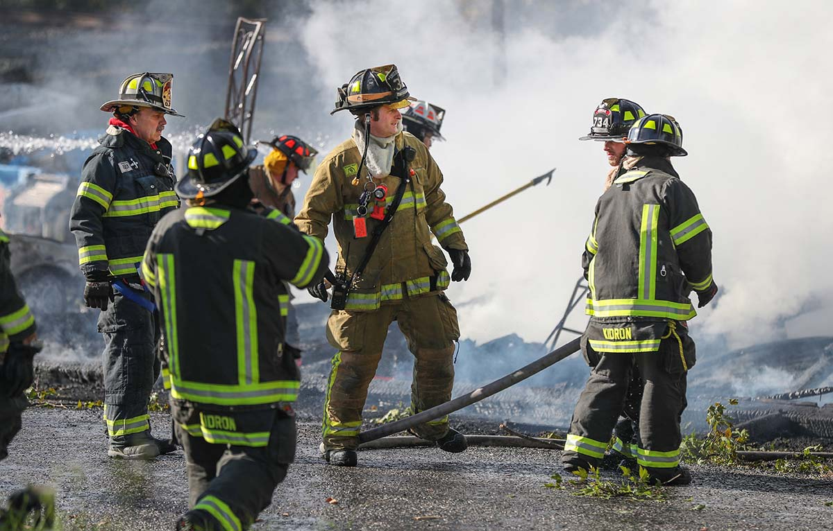 New technology to help track firefighters in burning building can be tested by environmental test chambers manufactured by Associated Environmental Systems
