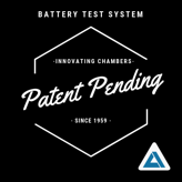 High density battery testing patent pending by Associated Environmental Systems