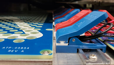 High-density battery testing