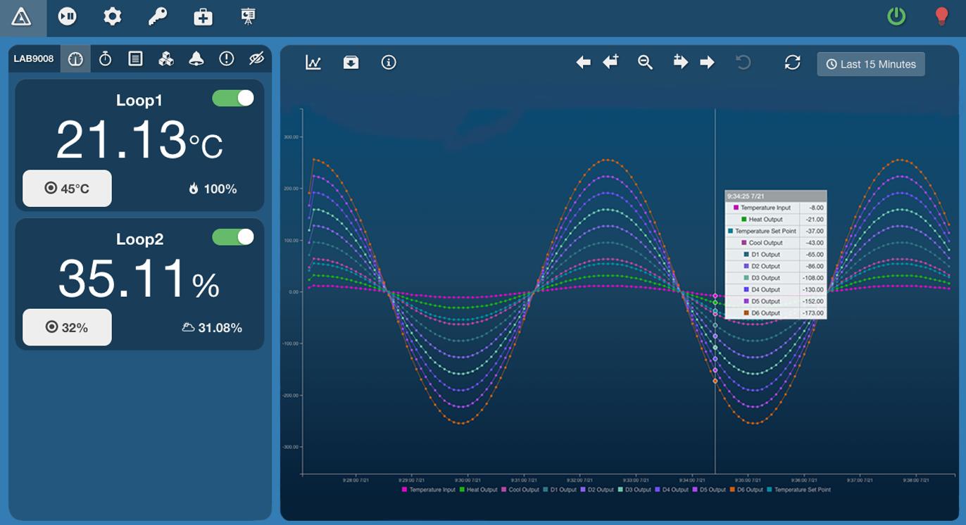 xchange-splash-dashboard by associated environmental systems
