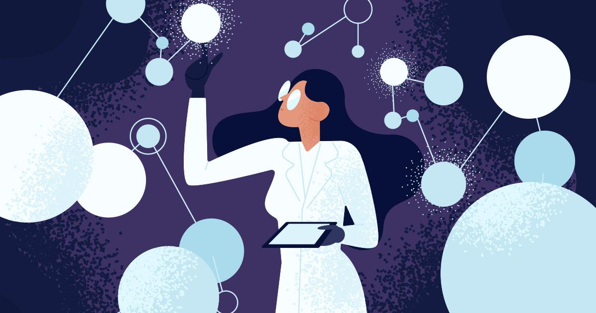 Woman Engineer Illustration