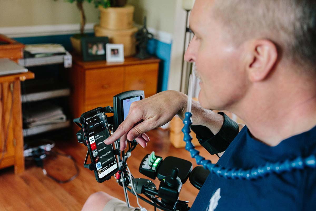 Greater Independence to Injured Veterans With Smart Home Assistive Technology